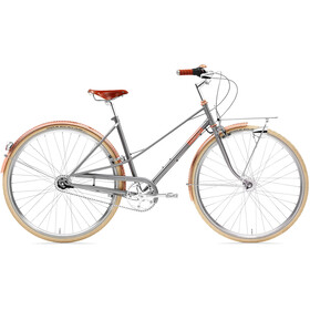 Creme Caferacer Doppio City Bike Women grey